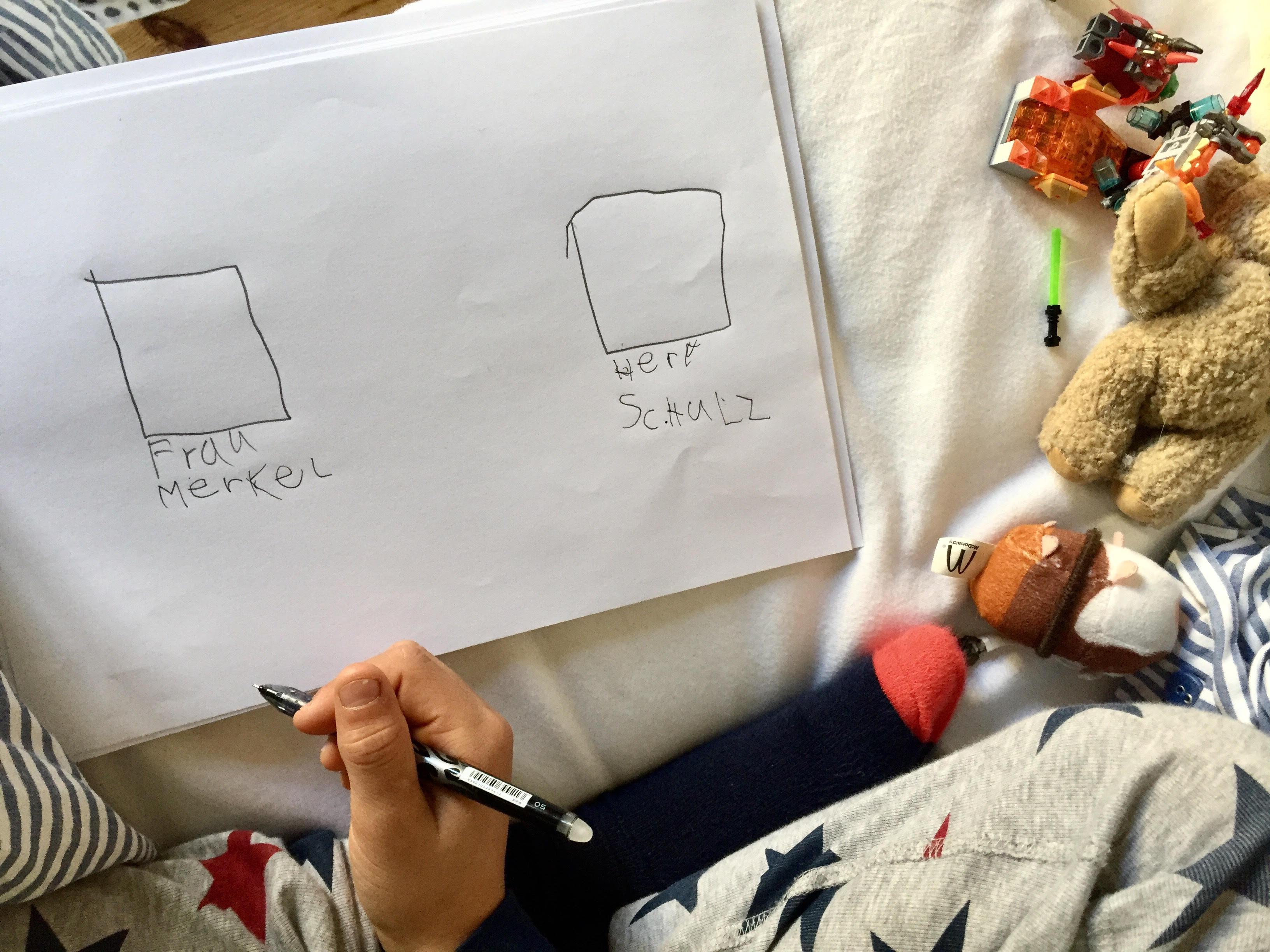 Kolumne <br/> Wahlerläuterung von einem Siebenjährigen