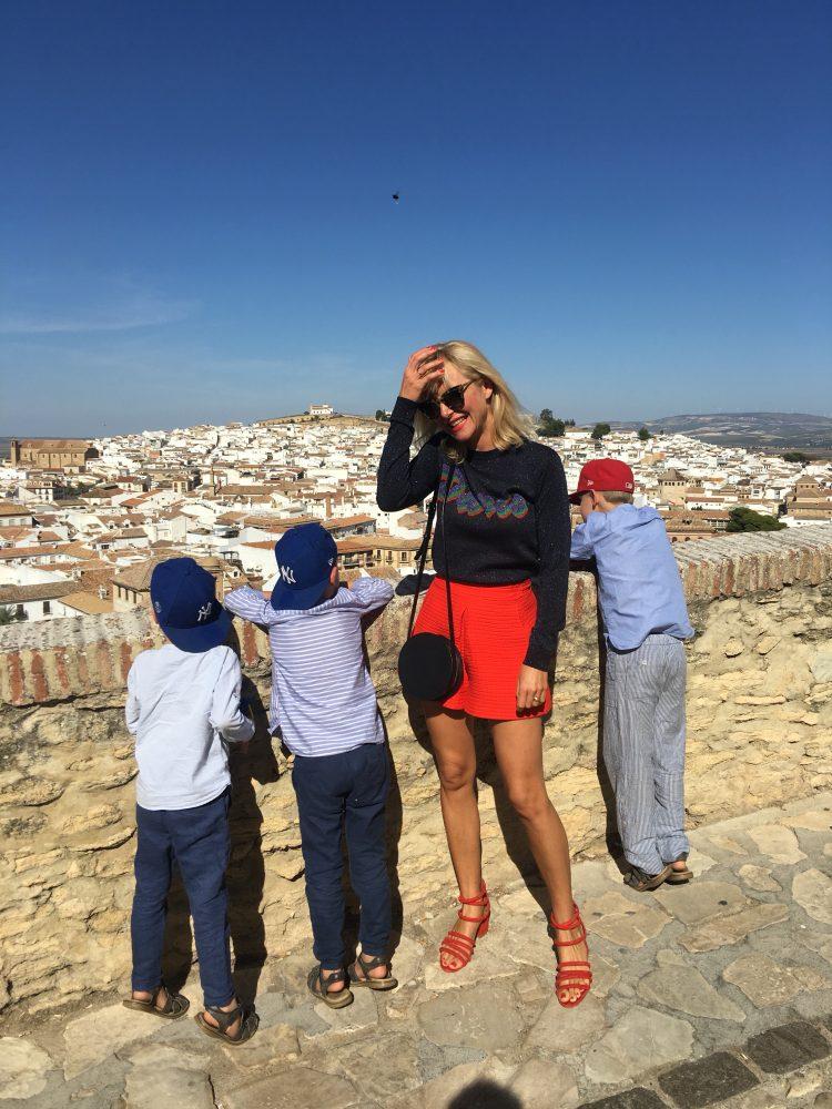 #travelwithkids <br> Burgen & Baden in Malaga