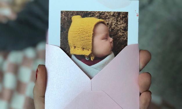 Hallo Baby! <br/> So schön können Geburtsanzeigen sein