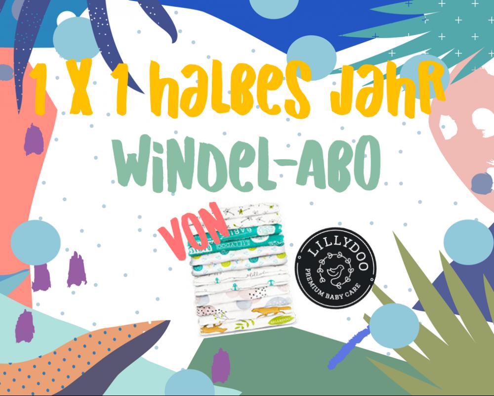 MUMMY WEEK <br> Gewinnt ein Halbjahresabo Lillydoo Windeln!