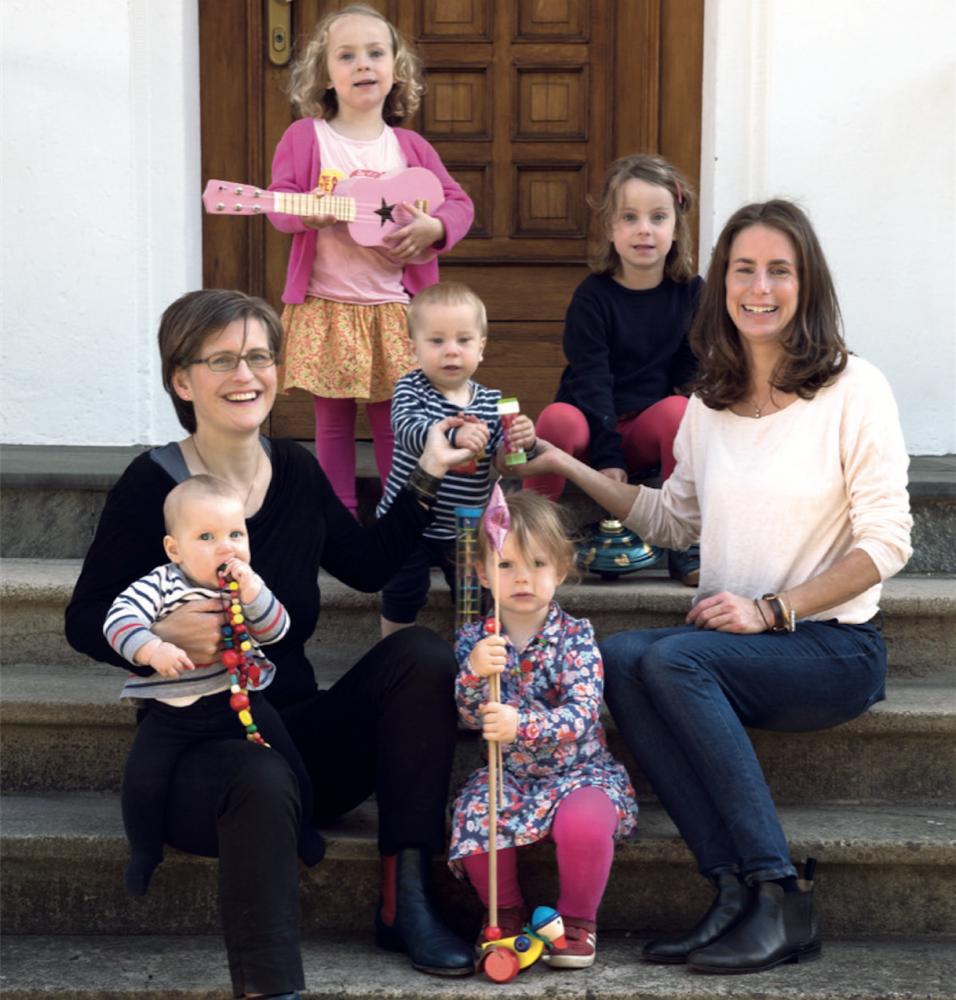 """Tausendkind Gründerinnen <br> Anike von Gagern, Kathrin Weiß <br>""""Wo die Liebe hinfällt"""""""