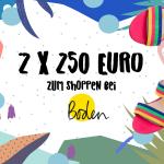MUMMY WEEK: <br/>Gewinnt 250,- EUR zum Shoppen bei Boden