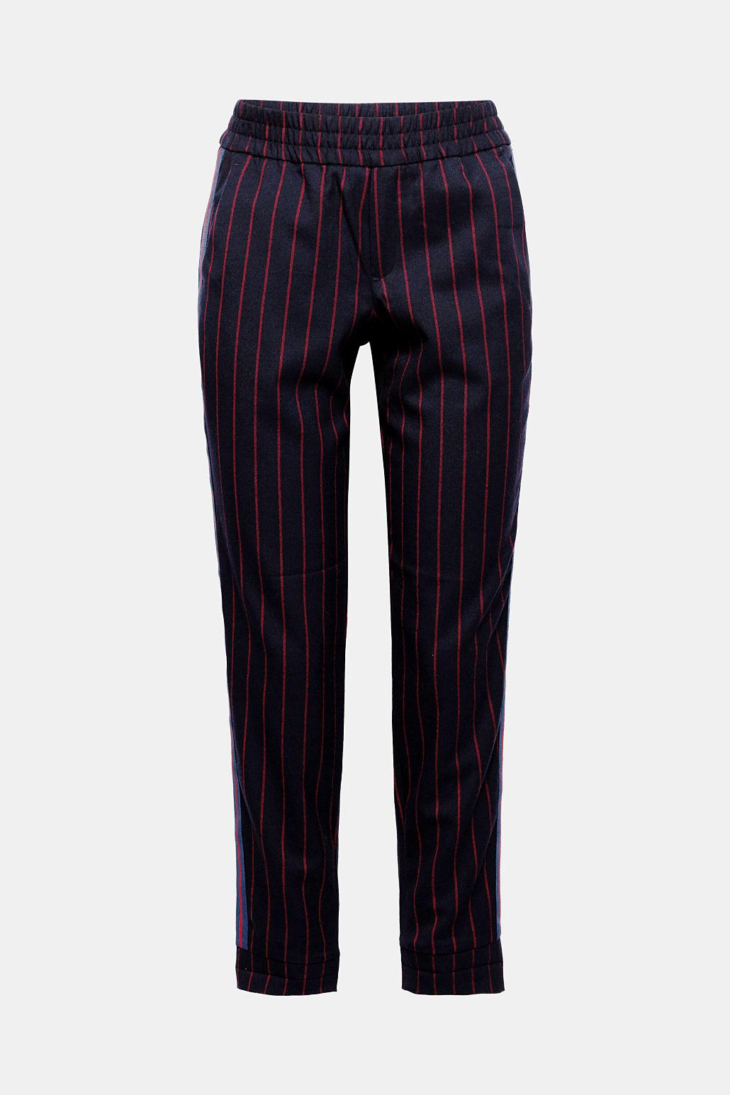 Esprit Stretch-Pants im Jogg-Stil mit Streifen