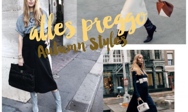 Schwanger durch den Herbst<br>Schönste Mode-Trends an Preggos