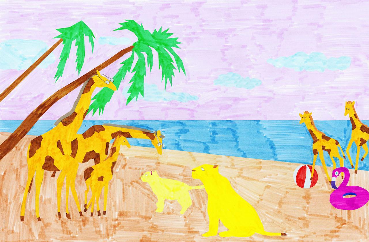 Wo ist Papa Kinderbuch Mirna Funk Giraffe Grandparents