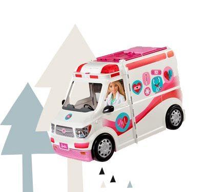 Türchen 11 <br> Gewinnt ein Barbie 2-in-1 Krankenwagen Spielset
