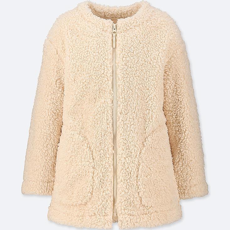 Uniqlo fleece mantel