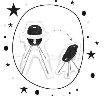 Türchen 12 <br> lottery chair poppy von phil&teds