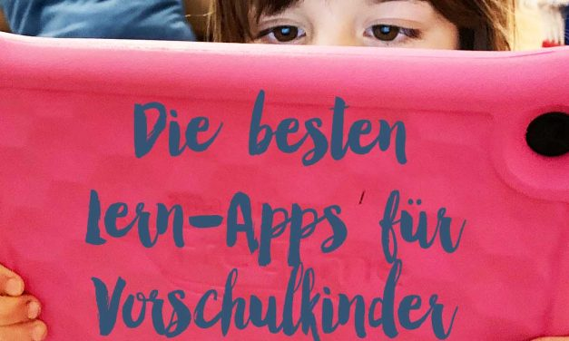 SCHULE <br> Die besten Apps für Vorschulkinder