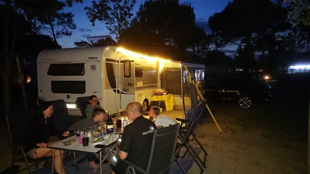 Camping deluxe: Urlaub am Mittelmeer