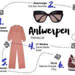 Antwerpen Packing List für eine Reise nach Belgien