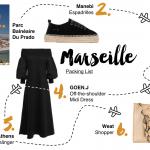 Marseille Packing List <br/> für eine Reise nach Frankreich