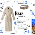 Harz Packing List für eine Reise zu Deutschlands schönstem Weihnachtsmarkt