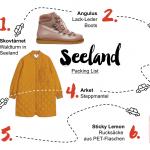 Seeland Packing List für eine Reise nach Dänemark