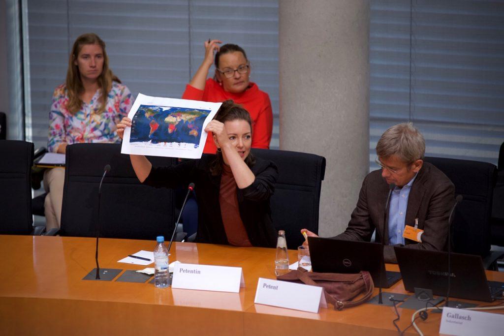Sabine Petition Ausschuss 2