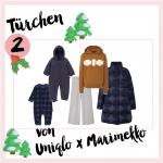 MM Adventskalender <br> Türchen 2 <br> Mini & Me Outfit von UNIQLO x Marimekko