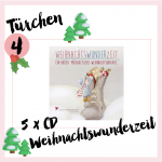 MM Adventskalender <br> Türchen 4 <br> 5 x CD Weihnachtswunderzeit