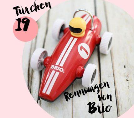 MM Adventskalender <br> Türchen 19 <br> Rennwagen von Brio