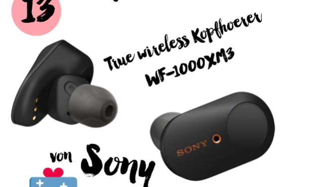 MM Adventskalender <br> Türchen 13 <br> True wireless Kopfhörer WF-1000XM3 von Sony