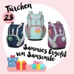 MM Adventskalender<br> Türchen 23<br>Sammies Ergofit Schulranzen-Set von Samsonite
