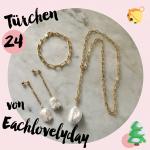 MM Adventskalender <br> Türchen 24 <br> Schmuckset von Eachlovelyday
