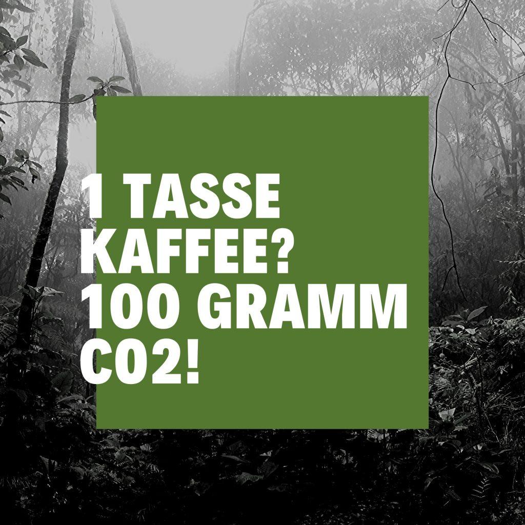 CO2 Tasse Kaffee Sabine