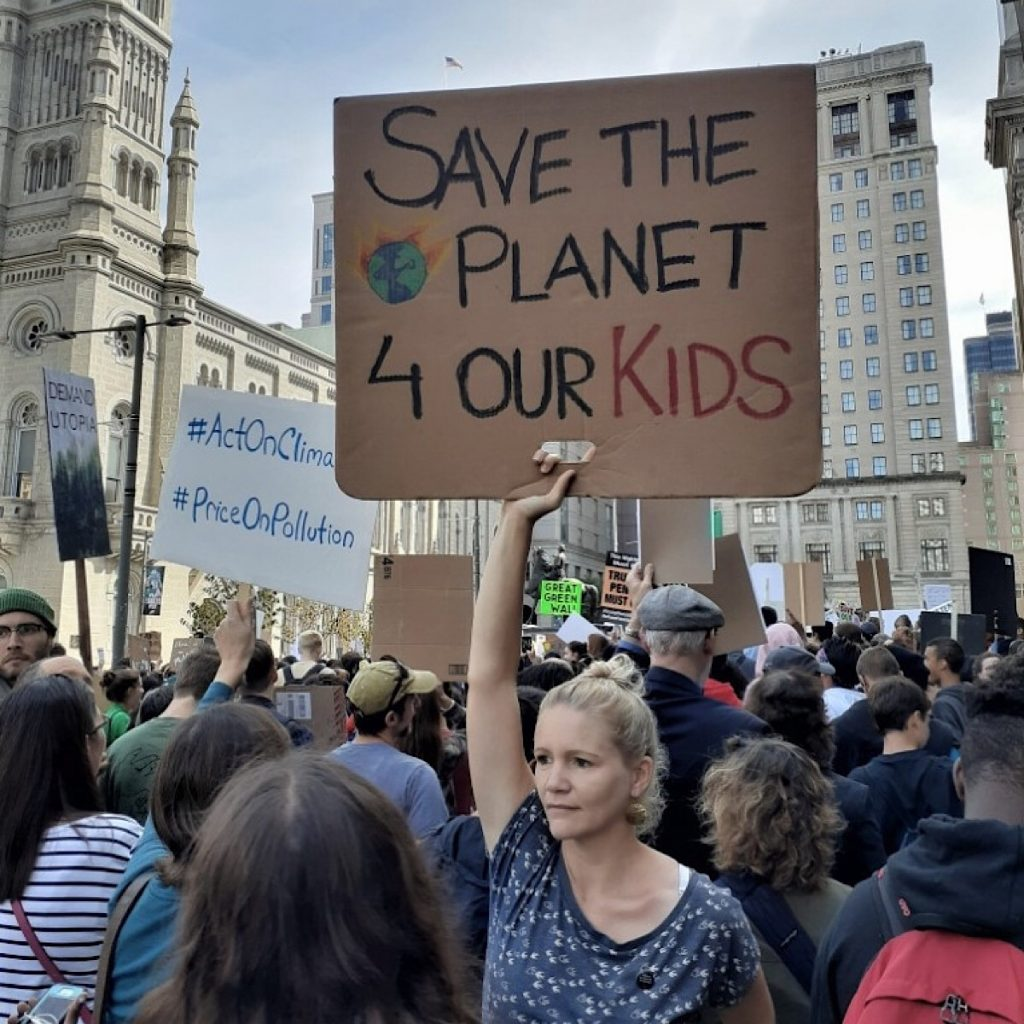An meine geliebten Kinder, Klimaschutz