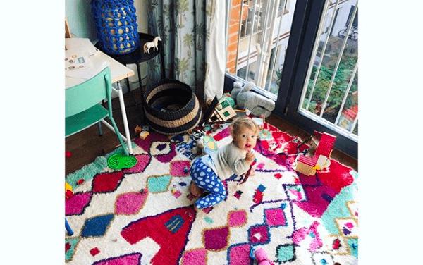 Azilal, Beni Ourain, Boucheroite & Co<br/> Berberteppiche im Kinderzimmer