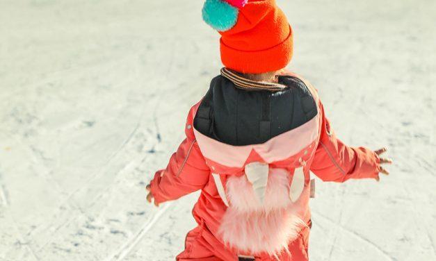 Winterurlaub mit Kleinkindern – Bitte essen Sie Schnee