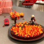 Der Feuerwehr- Geburtstagskuchen