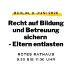 Berliner Eltern, werdet laut!!!