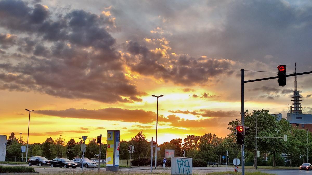 MUMMY MAG Herzgeschichte Sunset