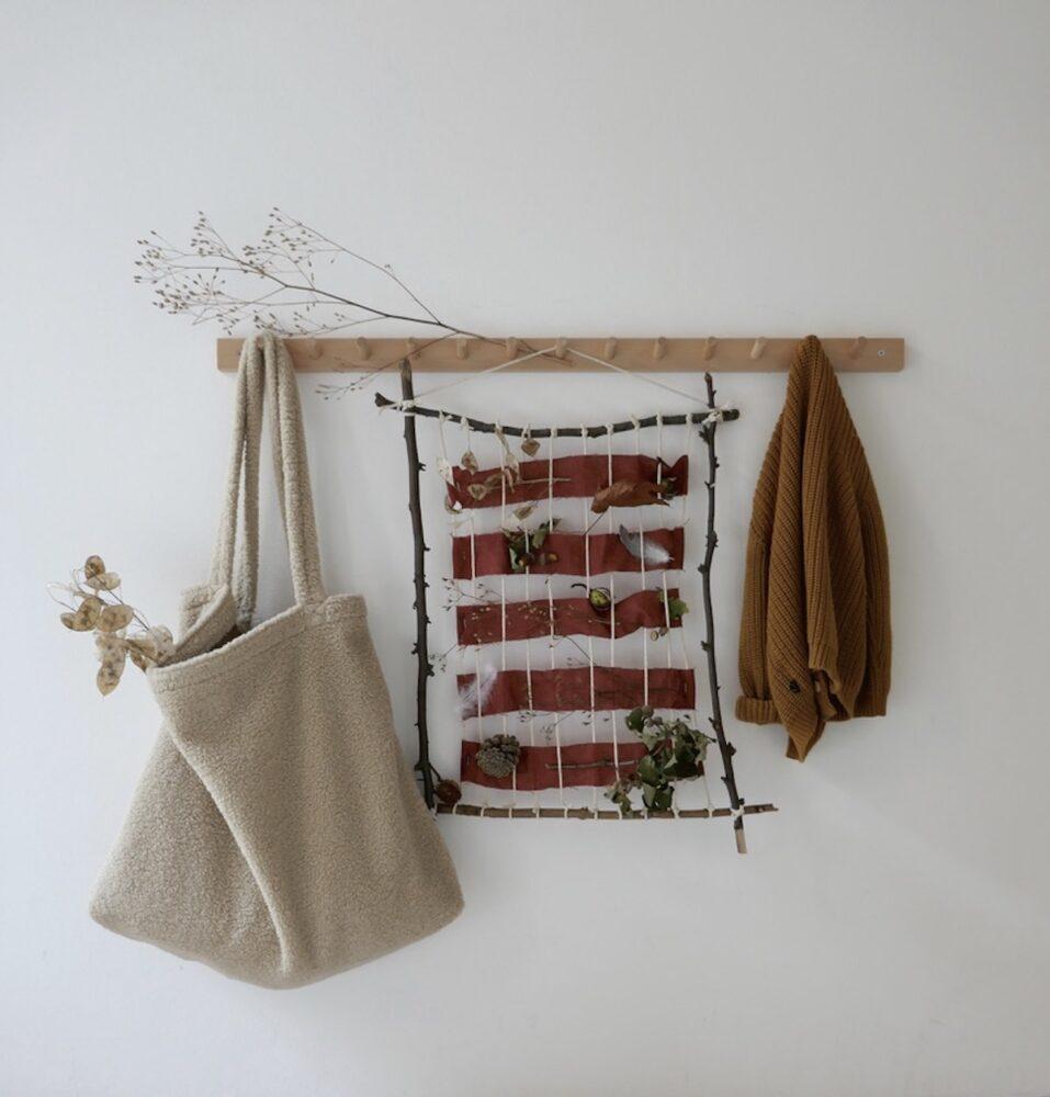 DIY Webrahmen – Ein schöner Platz für eure Herbstschätze